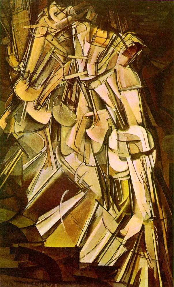 Duchamp. Nude Descending a Staircase (No. 2), 1912. www.uncg.edu nude_no2